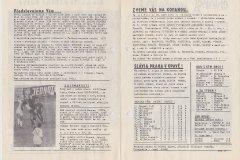 Bulletiny 74-75 Opava - Gottwaldov