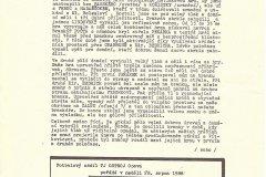 Bulletiny 88 - 89: Opava - Tábor