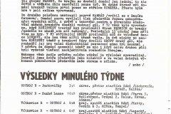 Bulletiny 89 - 90: Opava - Chomutov