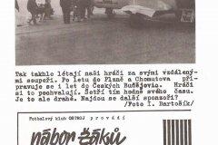 Bulletiny 90 - 91: Opava - Drnovice