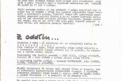 Bulletiny 91 - 92: Opava - Zlín