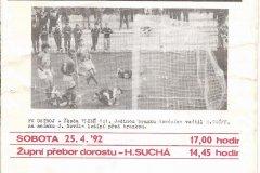 Bulletiny 92 - 93: Opava - Chomutov