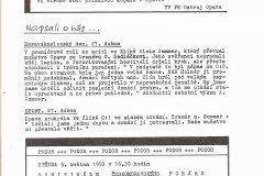 Bulletiny 92 - 93: Opava - Havířov