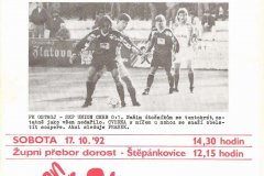 Bulletiny 92 - 93: Opava - Liberec