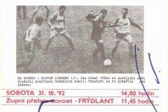 Bulletiny 92 - 93: Opava - Znojmo