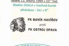 Bulletiny 93 - 94: Havířov - Opava
