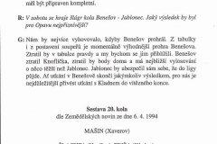 Bulletiny 93 - 94: Opava - Kladno