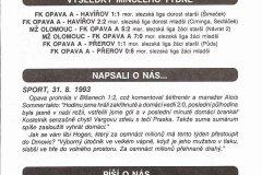 Bulletiny 93 - 94: Opava - Pardubice