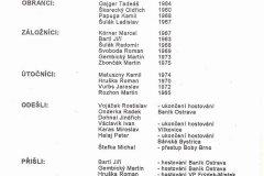 Bulletiny 93 - 94: Opava - Třinec