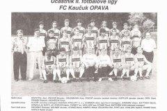 Kaučuk Opava 1994 - 1995