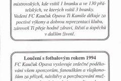 Bulletiny 94 - 95: Opava - Příbram