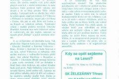 Bulletiny 94 - 95: Třinec - Opava