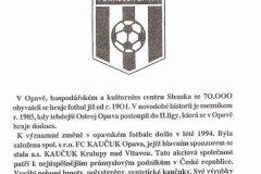 Bulletiny 94 - 95: Uherský Brod - Opava