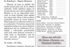 Bulletiny 95 - 96: Olomouc - Opava