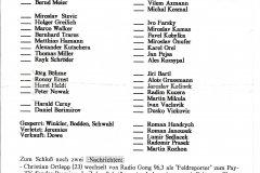 Bulletin 95 - 96 Intertoto cup: OPAVA - Mnichov 1860