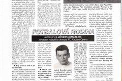 Bulletiny 95 - 96: Opava - Sparta