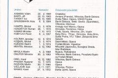 Bulletin 95 - 96 Zlín - OPAVA