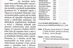 Bulletiny 96 - 97: Olomouc - Opava