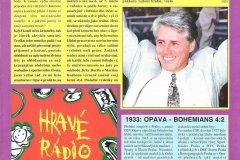 Bulletiny 96 - 97: Opava - Bohemians