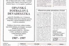 Bulletiny 97 - 98: Opava - Brno