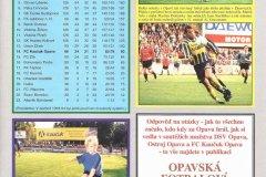 Bulletiny 97 - 98: Opava - Jablonec