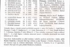 Bulletiny 99 - 00: Olomouc - Opava