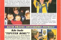 Bulletiny 99 - 00: Opava - Slavia