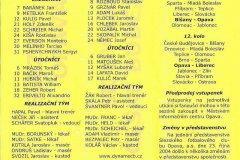 Bulletiny 04 - 05: Opava - České Budějovice