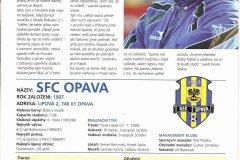 Bulletiny 04 - 05: Sparta - Opava