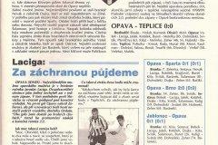 Bulletiny 04 - 05: Teplice - Opava
