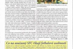 Bulletiny 05 - 06: SFC Opava
