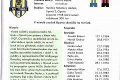 Bulletiny 07 - 08: Bohemians - Opava