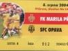 2004 - 2005 1. Příbram - SFC OPAVA