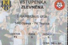 2004 - 2005 8. SFC OPAVA - Teplice