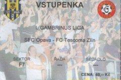 2004 - 2005 15. SFC OPAVA - Zlín