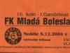 2004 - 2005 16. Mladá Boleslav - SFC OPAVA