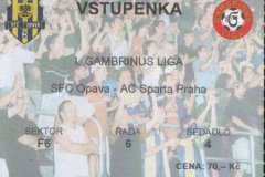 2004 - 2005 17. SFC OPAVA - Sparta