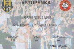 2004 - 2005 28. SFC OPAVA - Sigma Olomouc