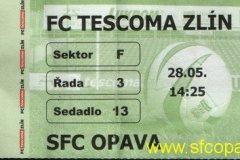 2004 - 2005 29. Zlín - SFC OPAVA