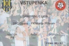 2004 - 2005 30. SFC OPAVA - Příbram