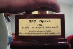 2005 - 2006 28. SFC OPAVA - Bohumín