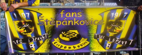 vlajka Fans Štěpánkovice