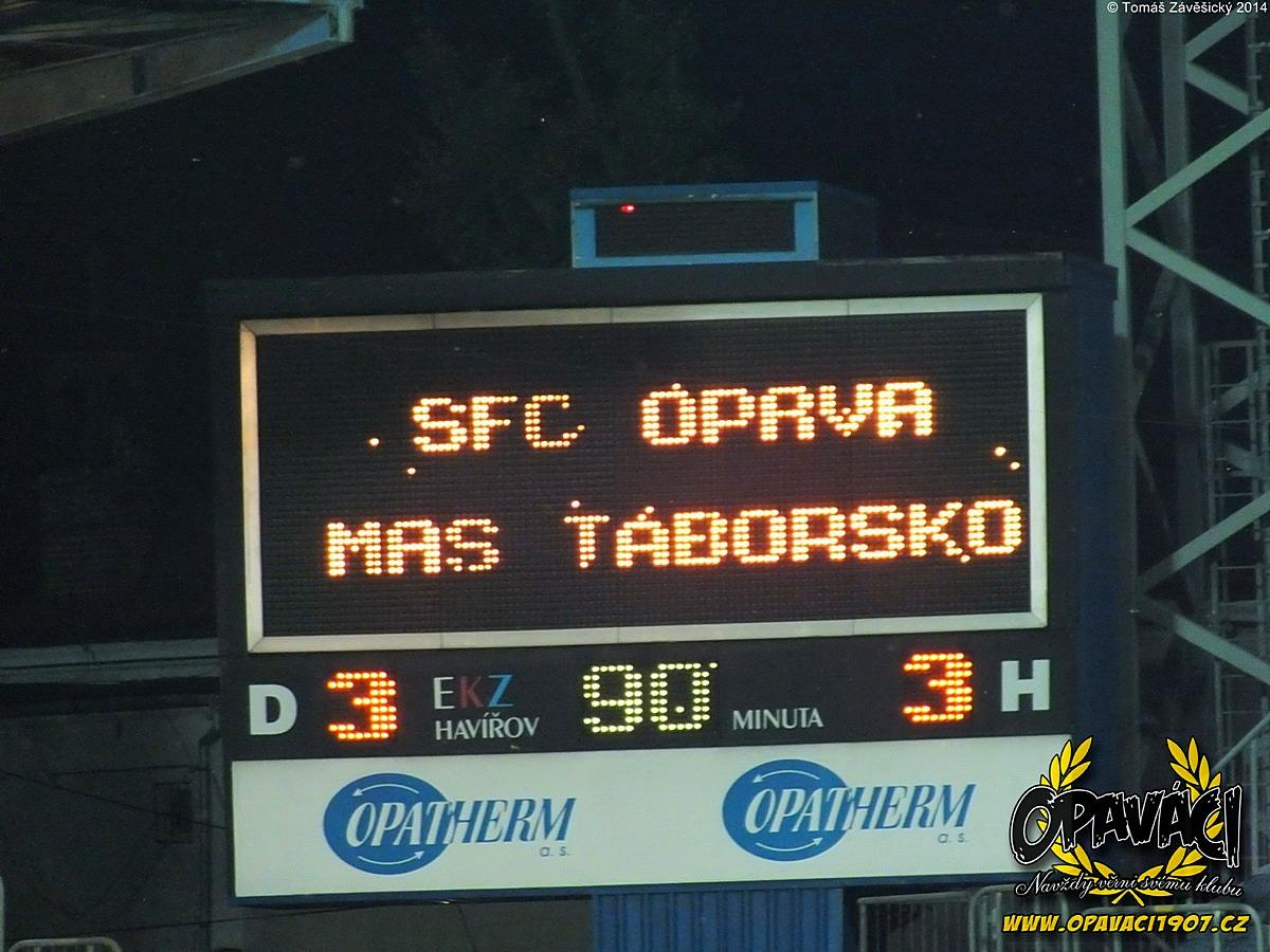2014/2015 07. SFC OPAVA - Táborsko