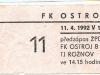 1991 - 1992 Opava - Plzeň