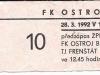 1991 - 1992 Opava - Xaverov