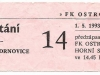 1992 - 1993 Opava - Drnovice