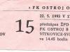 1992 - 1993 Opava - Havířov