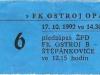 1992 - 1993 Opava - Liberec