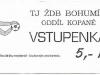 1993 - 1994 Bohumín - Opava