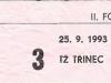 1993 - 1994 Opava - Třinec